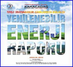 TRC-2(Diyarbakır ve Şanlıurfa) Bölgesi Yenilenebilir Enerji Raporu