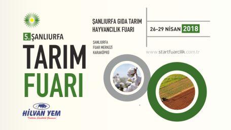 5. Şanlıurfa Gıda Tarım Hayvancılık Fuarı Kapılarını Açıyor !