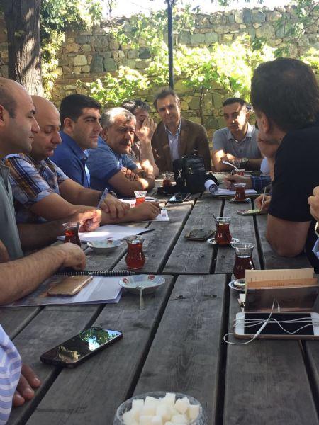 Bursa'nın turizm liderleri Şanlıurfa meslektaşları ile yönetişim deneyimlerini paylaşıyor.