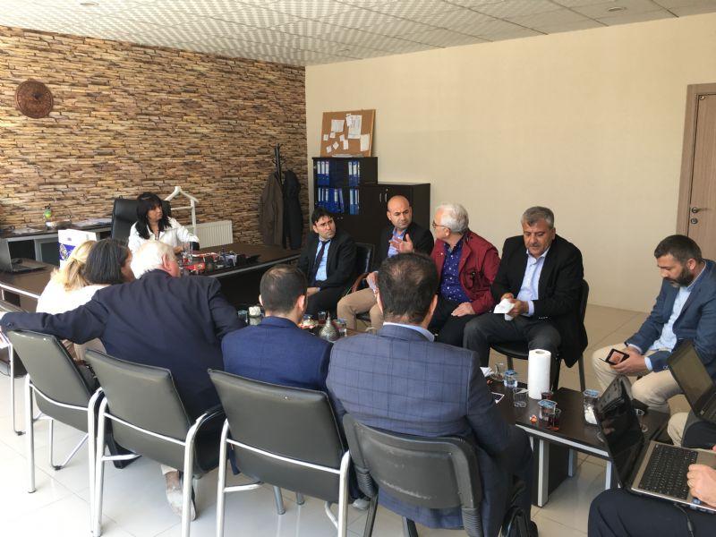 Mardin yerel yöneticileri Şanlurfa'da turizm yönetişiminin güçlendirilmesine destek veriyor..