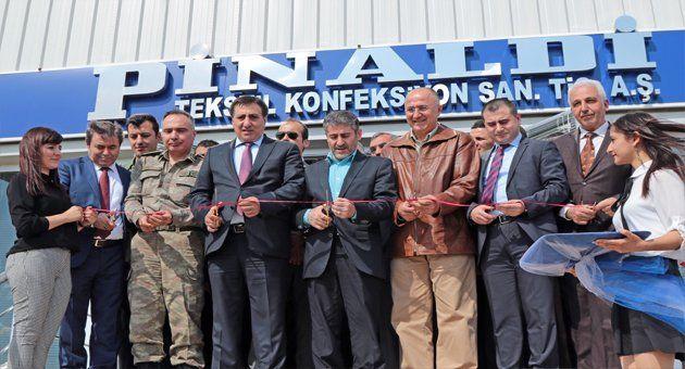 Şanlıurfa OSB'de Gömlek Fabrikası Açıldı!!!
