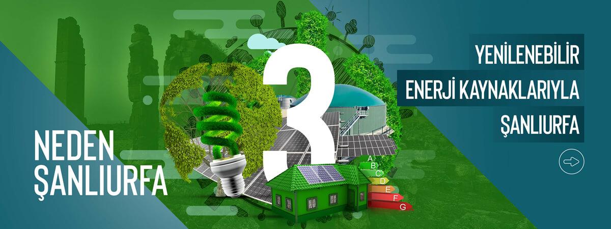 Yenilenebilir Enerji Kaynaklarıyla Şanlıurfa