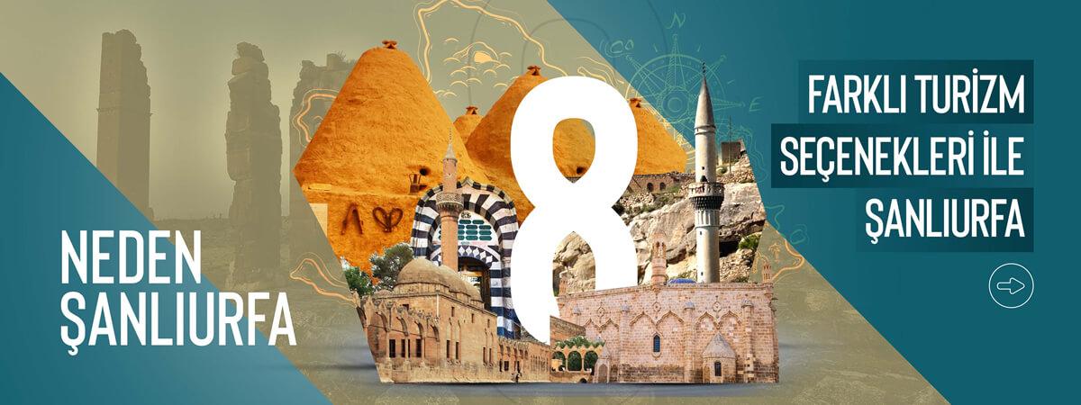 Farklı Turizm Seçenekleri ile Şanlıurfa